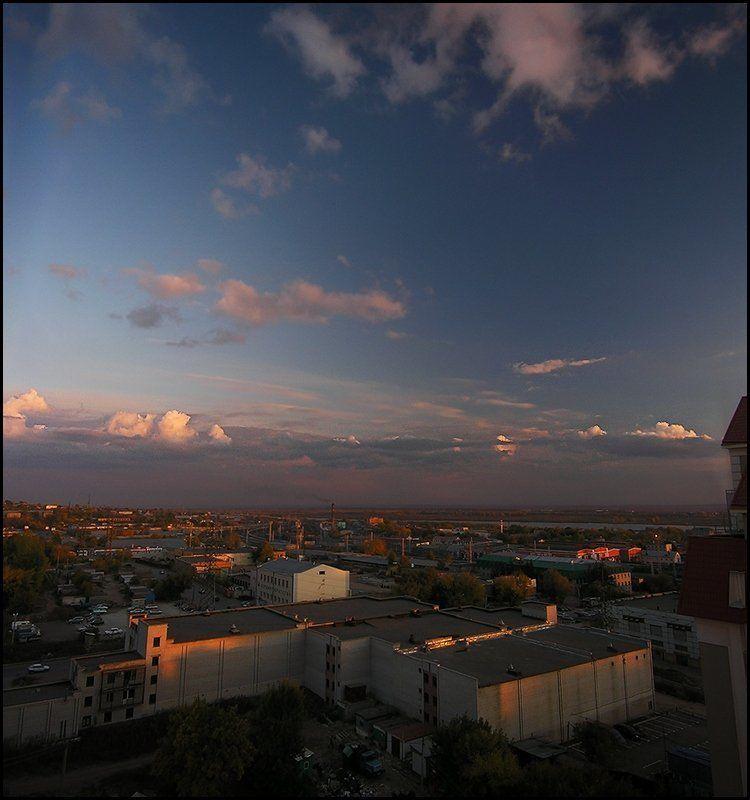 дома, небо, облака 1001 вид Мечникова 1photo preview