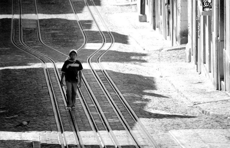 пешком вдоль рельсphoto preview