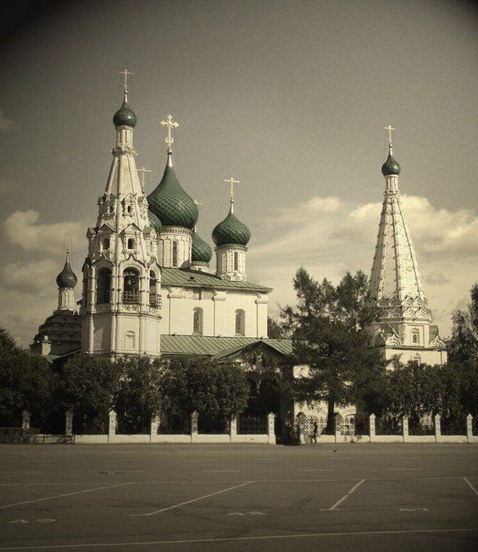 ярославль, город, храм, Ярославль - золотое кольцоphoto preview