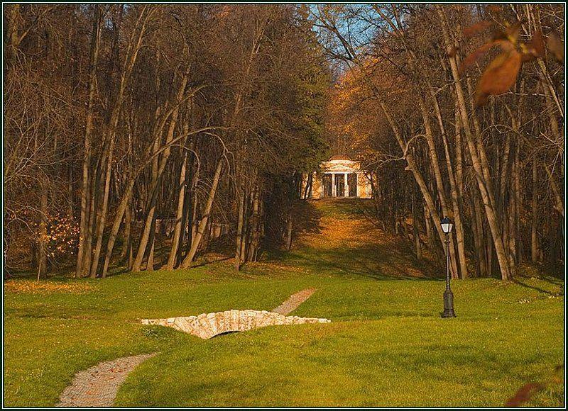 царицыно, павильон, осень Как в старые добрые времена...photo preview