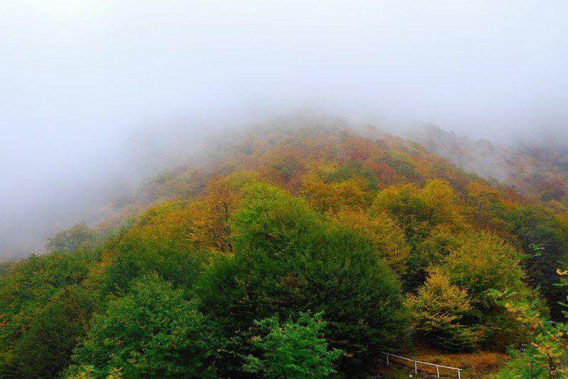 азербайджан, кавказ, туман, горы В горах туманphoto preview