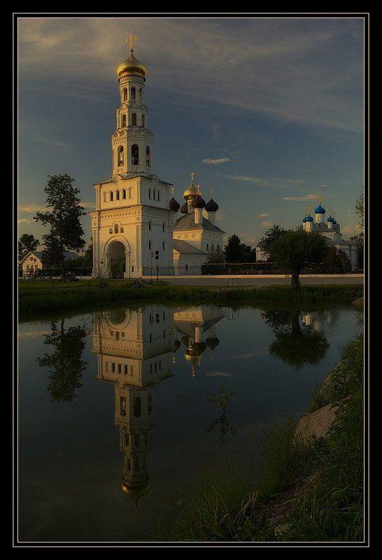 храмовый, комплекс, село, завидово, закат Завидный комплекс в селе Завидовоphoto preview
