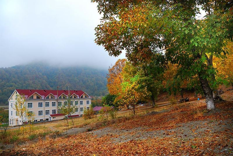 азербайджан, кавказ, горы, лес, осень осень на кавказеphoto preview