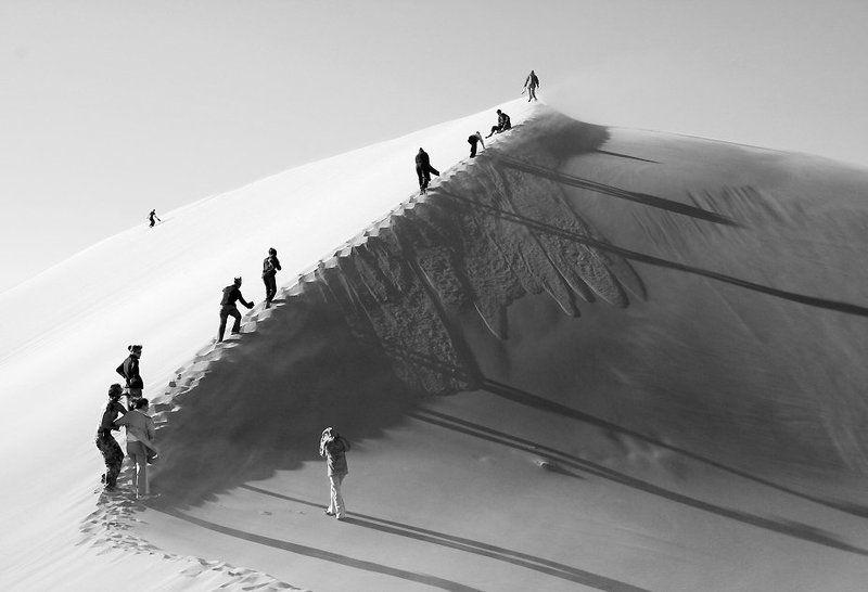 казахстан национальный парк алтын емель поющий бархан будков дмитрий Белое солнце пустыниphoto preview