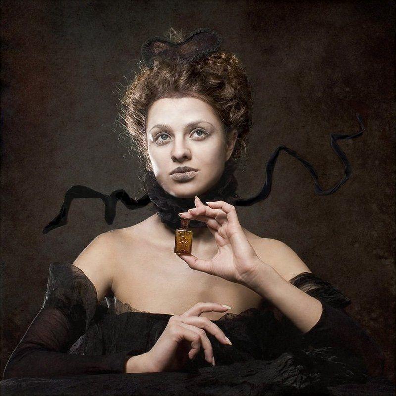 дама, мысли.. темные мысли..photo preview