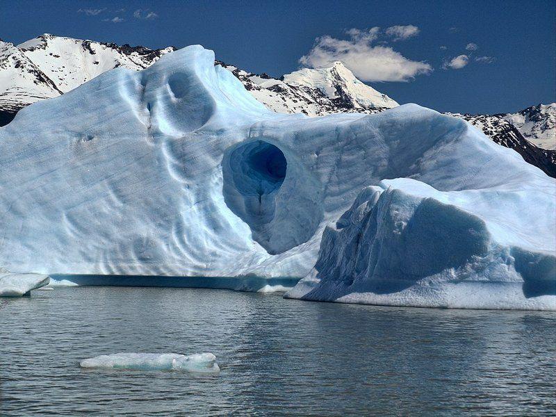ледник, айсберг, озеро Телепорт в небоphoto preview