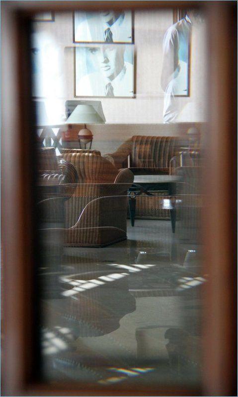 окно, бар, кафе, отражения ***photo preview