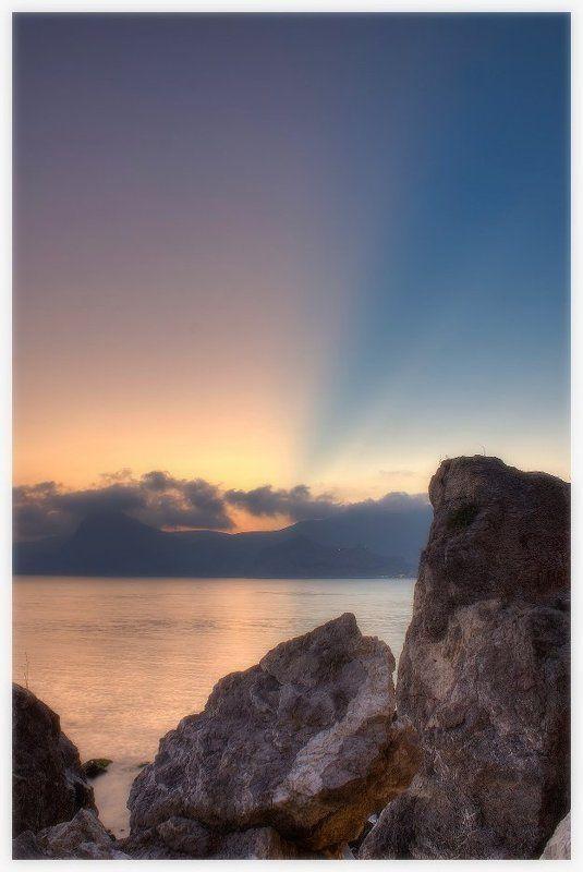 крым, море, судак, камни, украина, чёрное море краски крымаphoto preview