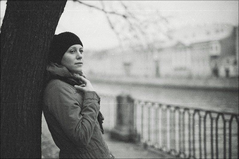питер,жанровый портрет,ноябрь Питерское...photo preview