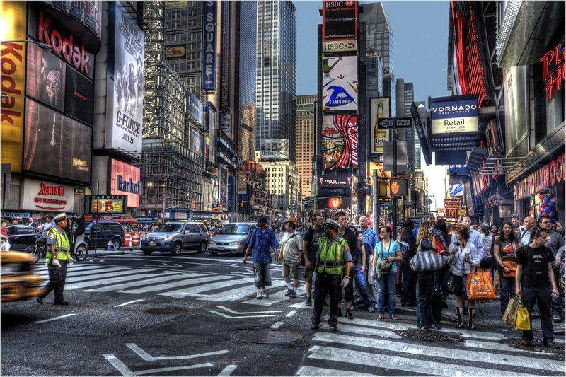 nyc, times square Перекрестокphoto preview