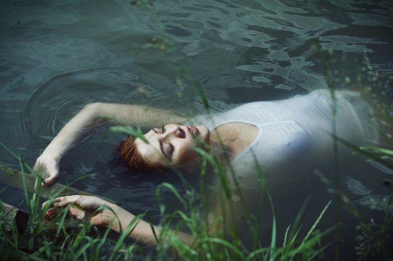 офелия , вода , девушка photo preview