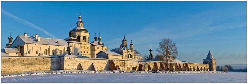 русский_север, кириллов, зима Кирилло-Белозерский монастырьphoto preview