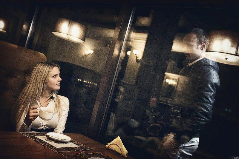 ночь, кафе, фонарь, мгновенье, освещение, помещения, любовь, wonderful, moment Чудное мгновеньеphoto preview