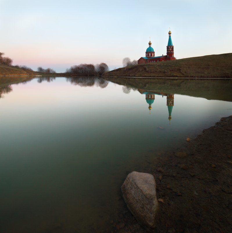 пруд, храм Прудphoto preview