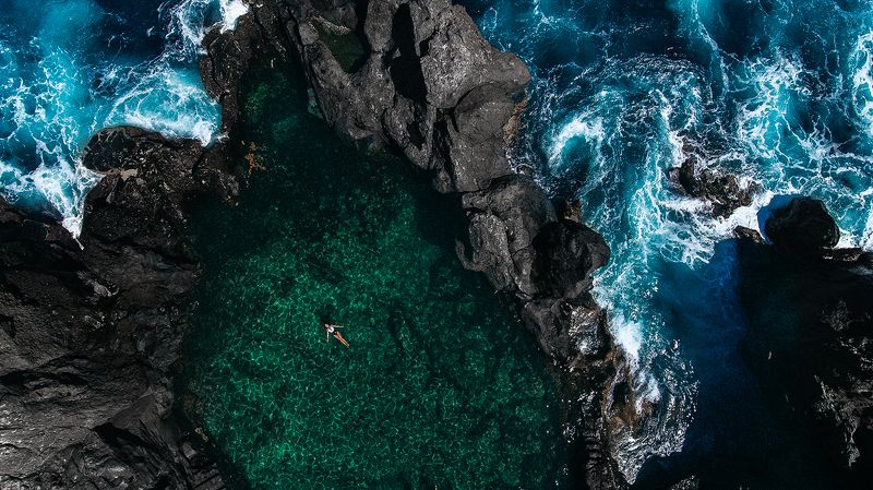 океан скалы атлантика Человек и стихияphoto preview