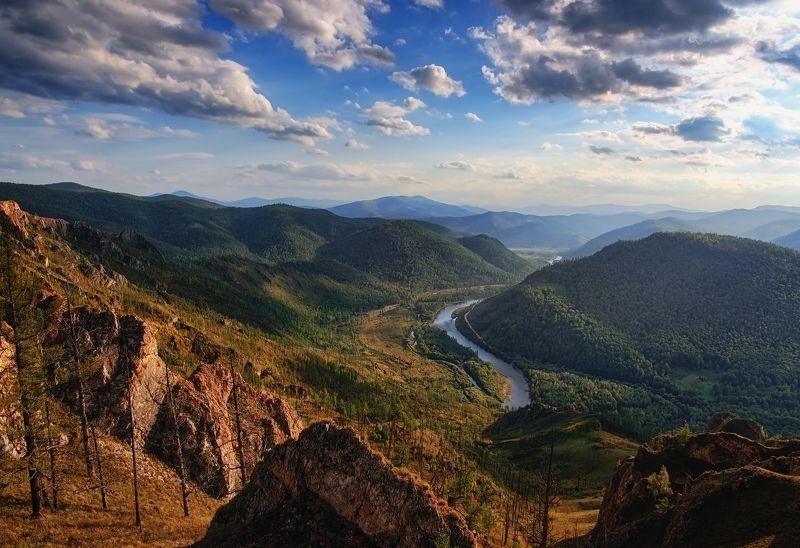 Горы Хакасии / р. Белый Июсphoto preview
