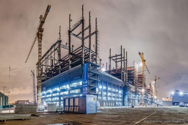 зил, реновация, стройка, индастриал, москва, новостройка, панорама Реновация старого цеха завода ЗиЛphoto preview