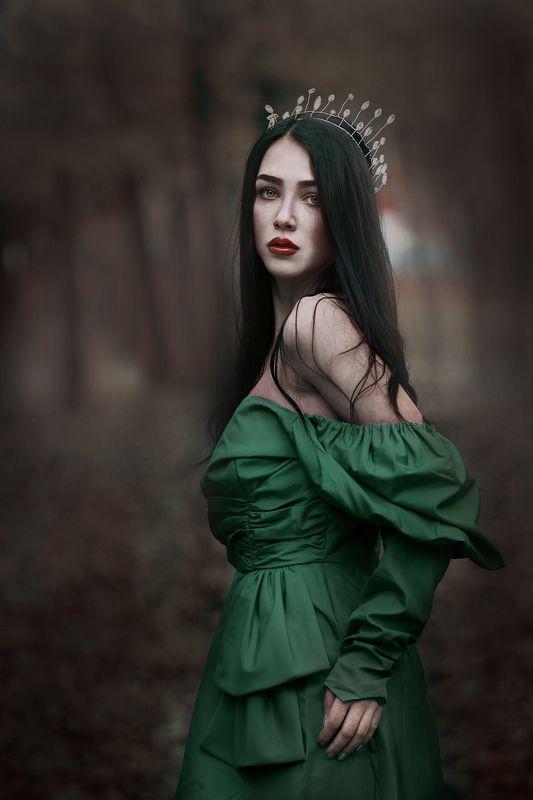 девушка, портрет, 85 mm Катяphoto preview
