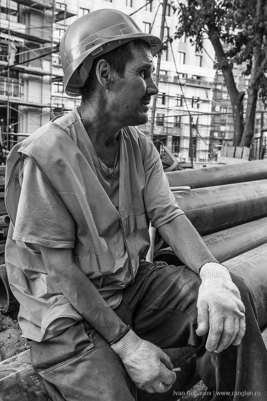 строитель, человек, мужчина, рабочий, жанр Рабочийphoto preview