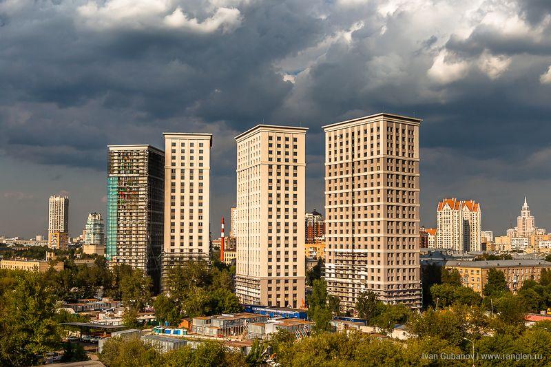 новостройка, октябрьское поле, город, москва, вид Родной город Октябрьское полеphoto preview