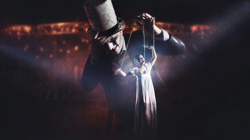 арт клоуны Мистер кукловодphoto preview