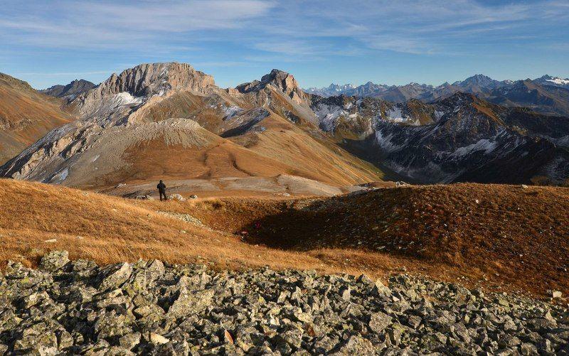 горы, осень, закат В ожидании закатаphoto preview
