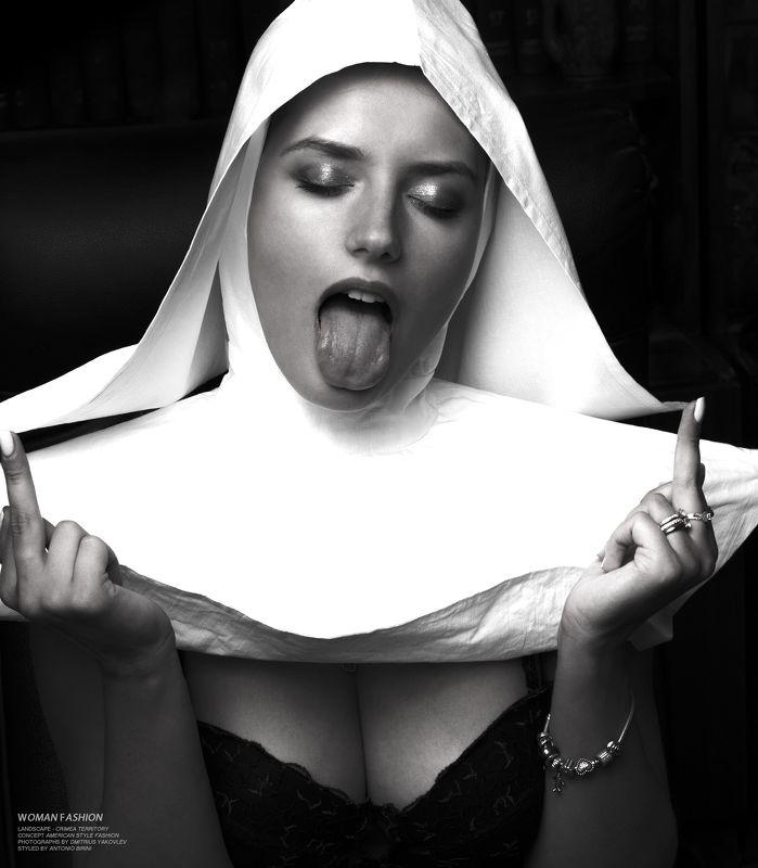 церковь, монашка, религия,  сексуальность, фэшн, мода, модели,  дмитриус яковлев, church, nun, religion, sexuality, fashion, fashion, models, dmitrius yakovlev photo preview