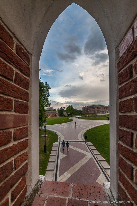 пейзаж, царицыно, москва, лето, небо Пейзаж в окнеphoto preview