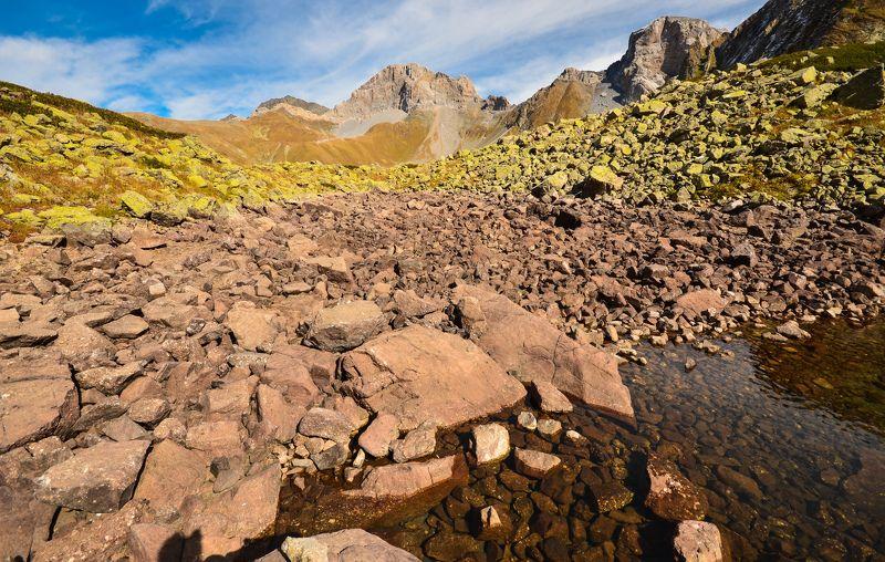 цвет, горы, озеро Цвета горphoto preview