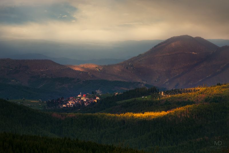 Bulgaria, Rhodope, mountain, village ***photo preview