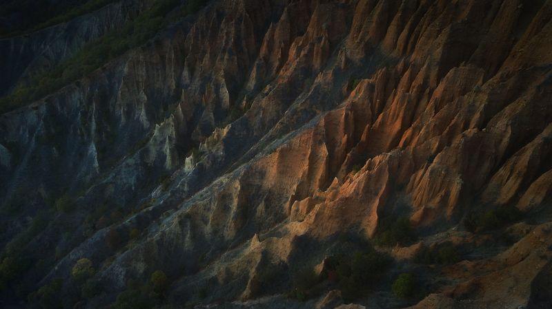 #pyramides #red #adventures #travel #Bulgaria #stob_pyramides Color diagonalesphoto preview