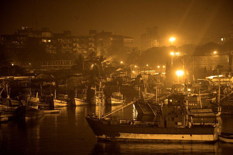 ....рыбные причалы Мармагао....Индияphoto preview