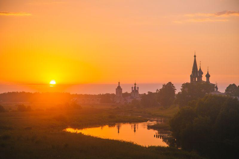 Дунилово, Россия, рассвет, кэнон Утром на речкеphoto preview