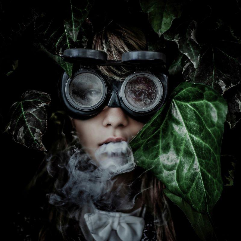 dark, smoke, fine-art, dark-portrait, natural-light, conceptual, oblivion, portrait, Oblivionphoto preview