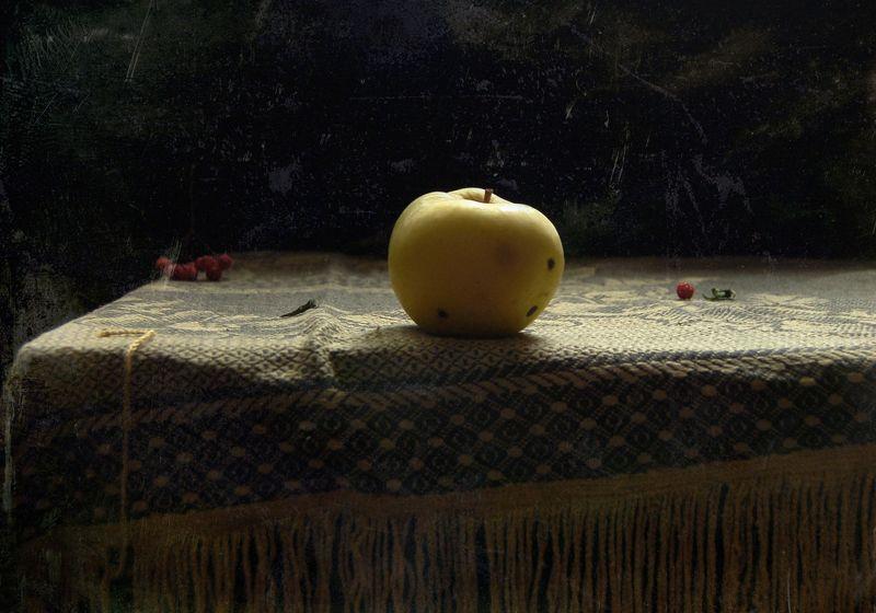 яблоко, натюрморт Яблокоphoto preview