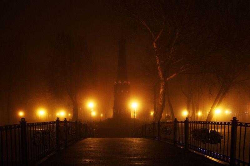 вечер, туманphoto preview