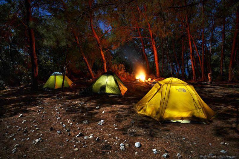 ликийскаятропа, тропа, ликийка, турция, ночь, палатки, палатка Сосновая сказкаphoto preview