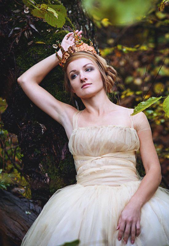 принцесса, сказка, лес, голубые глаза Принцесса была прекрасная.photo preview