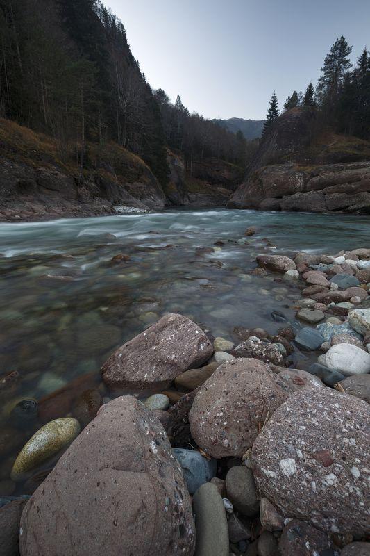 карачаево-черкесия ,кчр ,р. большая лаба , лаба Река Большая Лаба...photo preview
