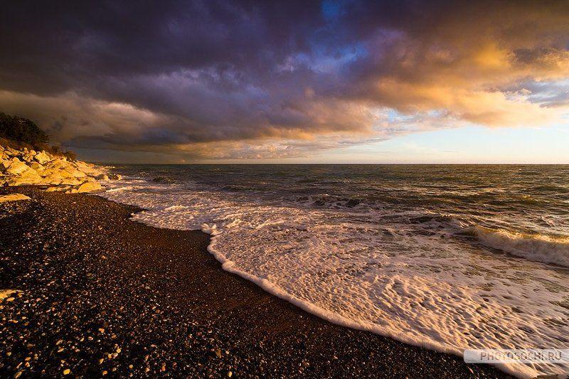 море, пейзаж, природа Черное море в октябреphoto preview
