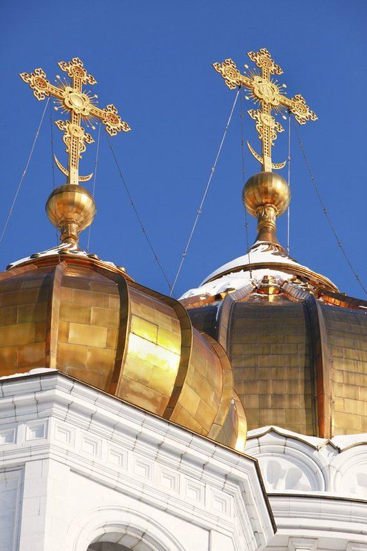 кресты, купола, храм Купола...photo preview