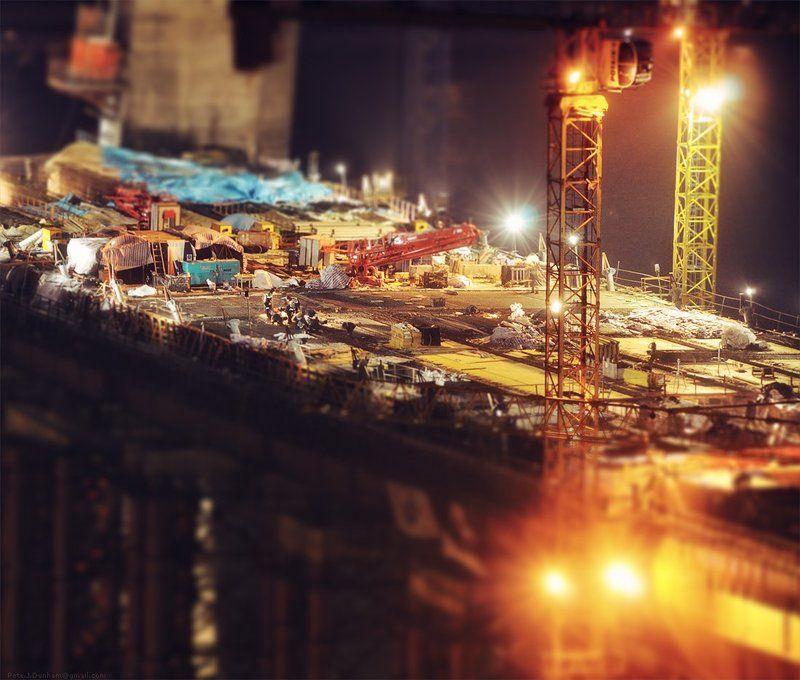 мост, золотой, рог, бухта, владивосток, огни, пилоны, саммит, атэс, apec, summit, 2012, стройка, глобальная Макростройкаphoto preview