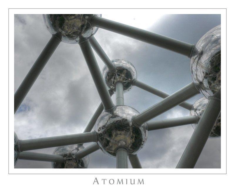 брюссель, атомиум Атомиумphoto preview