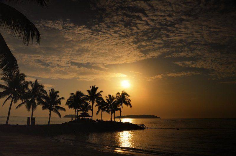 Закат на острове Борнеоphoto preview