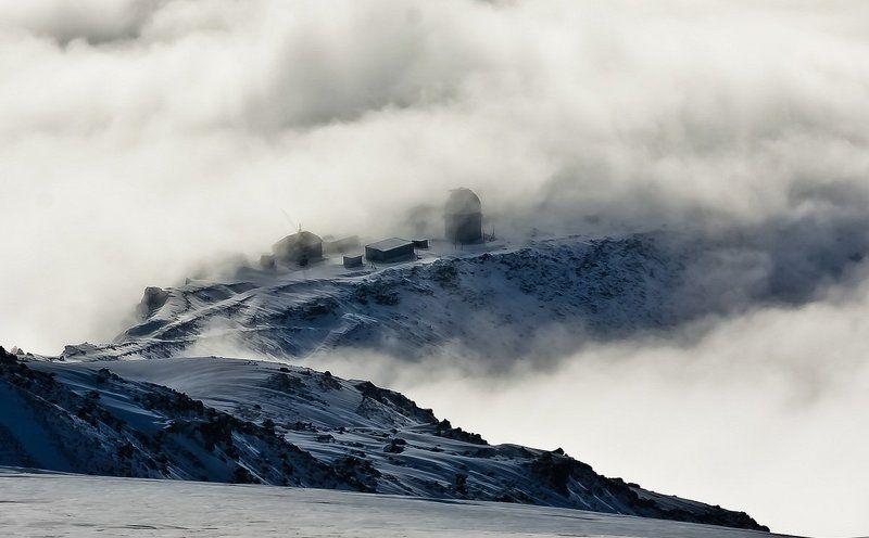 горы, эльбрус,  5642, пейзаж, снег, кавказ Власть ветраphoto preview
