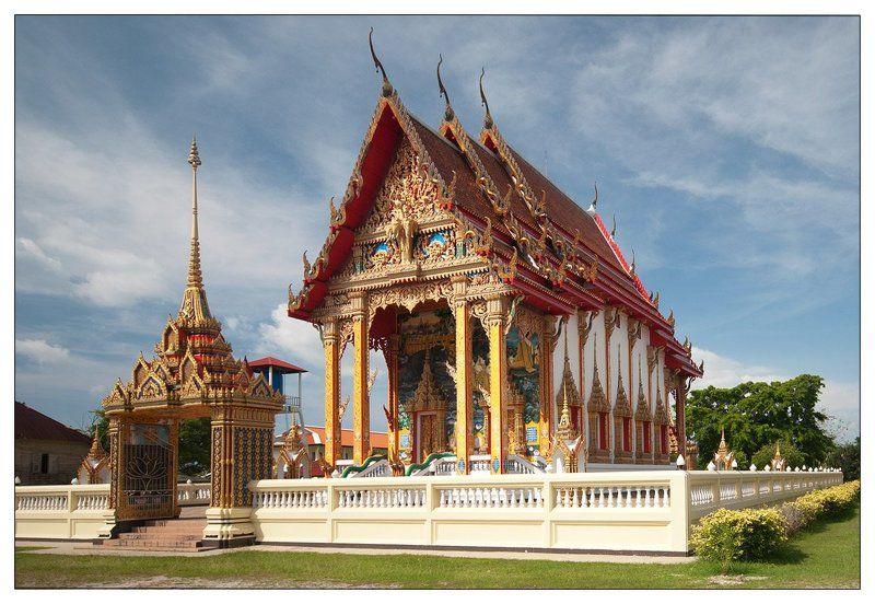 таиланд, храм Таиландский храмphoto preview