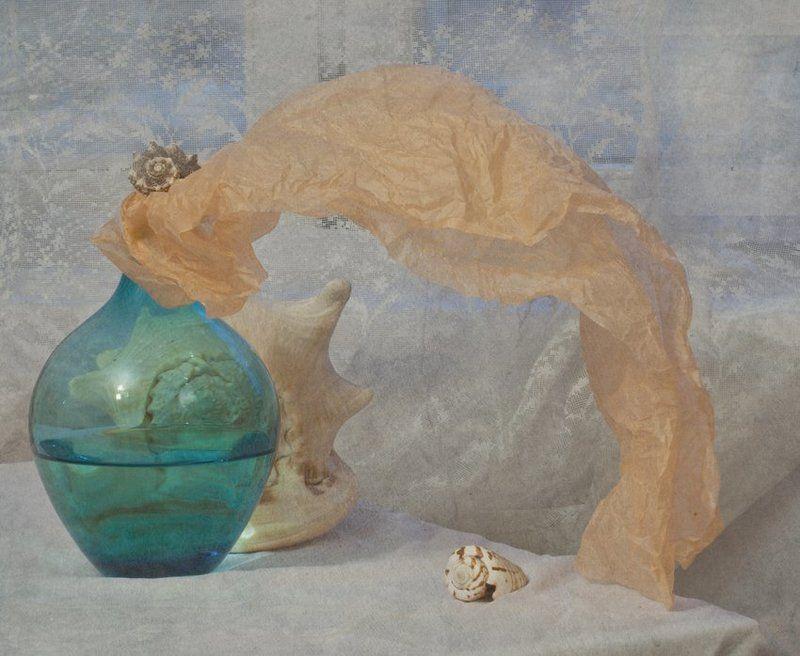 ракушки, ваза *photo preview