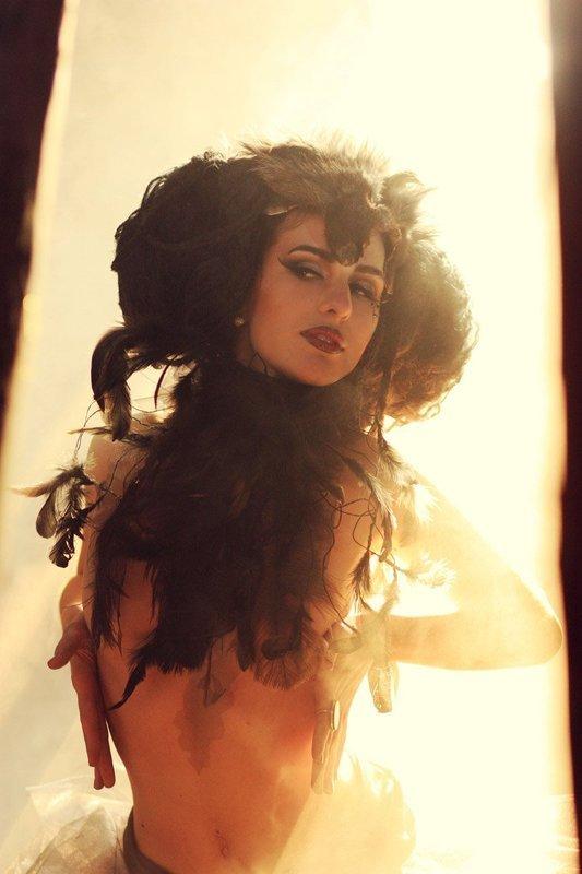 женский, портрет... Ведьма на рассвете...photo preview