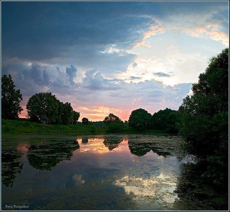 пруд, восход Каким же будет новый день?..photo preview