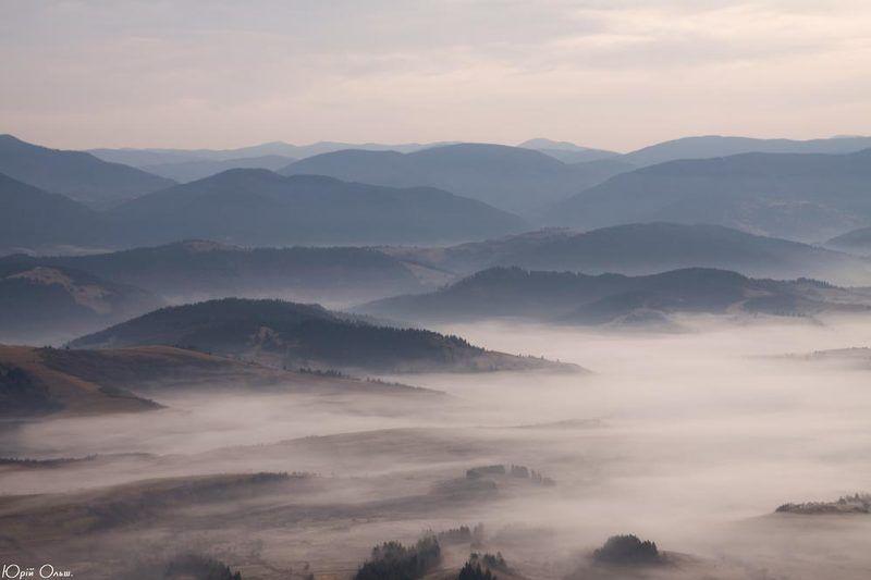 боржава, карпати, туман, ранок Боржавські походенькиphoto preview